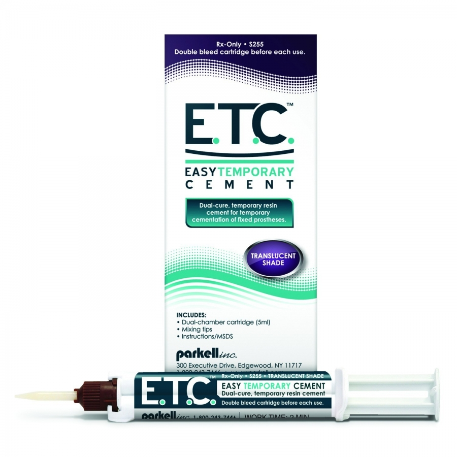 E.T.C. - EASY TEMPORARY CEMENT - PARKELL
